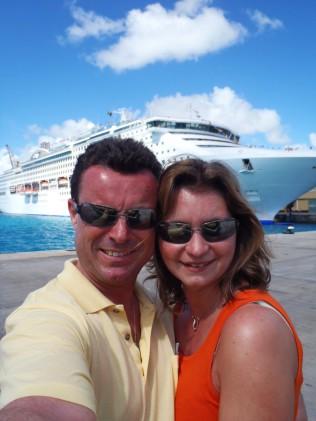 Honeymoon, Caribbean Cruise, Princess Cruises, Sea Princess, Wir, Hochzeitsreise, Kreuzfahrt, Karibik, Liebe, Welt, Barbados, Trinidad & Tobago, ABC-Inseln, Bonaire, Aruba, Geburtstag, Cayman Islands, Jamaica, Tortola, British Virgin Islands, Antigua & Ba