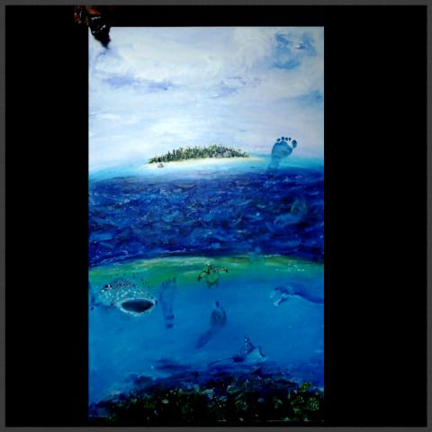 Maldives, Footprints, Baby, Whale Shark, Manta Ray, Turtle, Reef Shark, Eagle Ray, Fruitbat