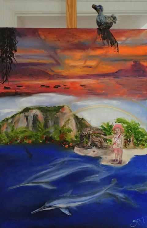 Mauritius, Ile Maurice, Dodo, Abendrot, Le Morne Brabant, Regenbogen, Riesenschildkröten, Delfine