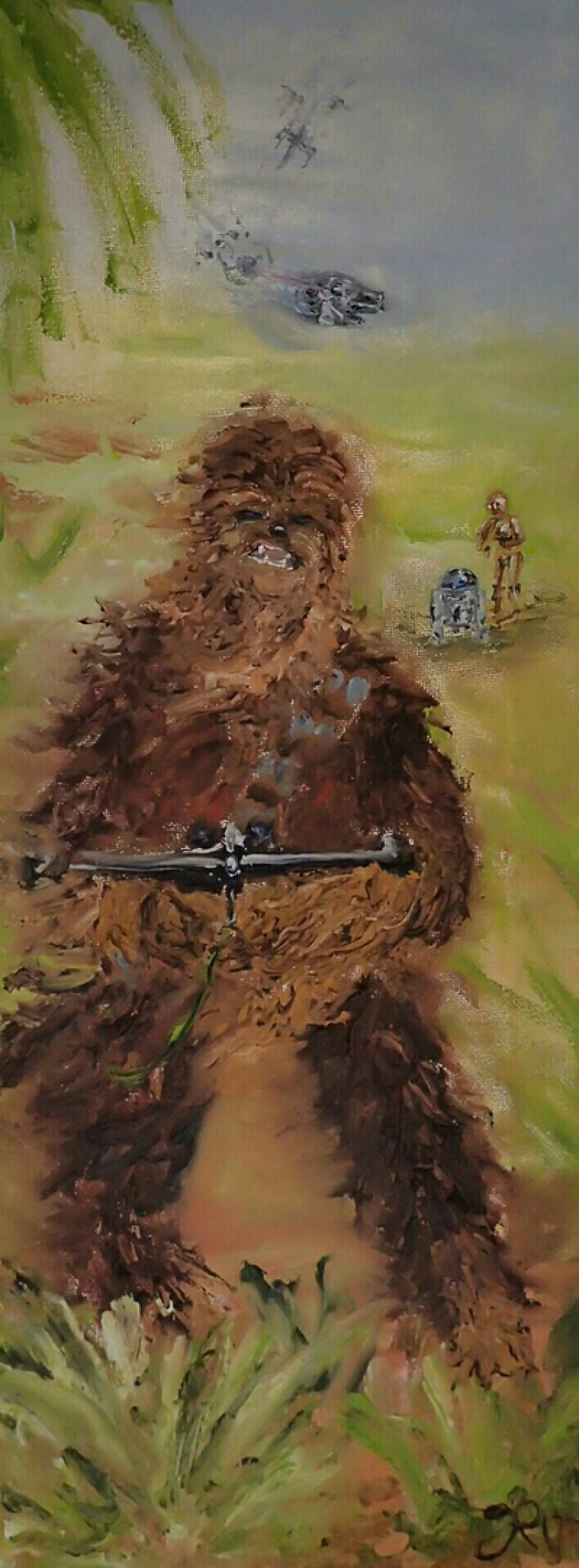 Star Wars, Chewbacca, Wookie, R2-D2, C-3PO, Millennium Falcon, X-Wing Fighter, The Force, Rebels, Rebellion, TIE