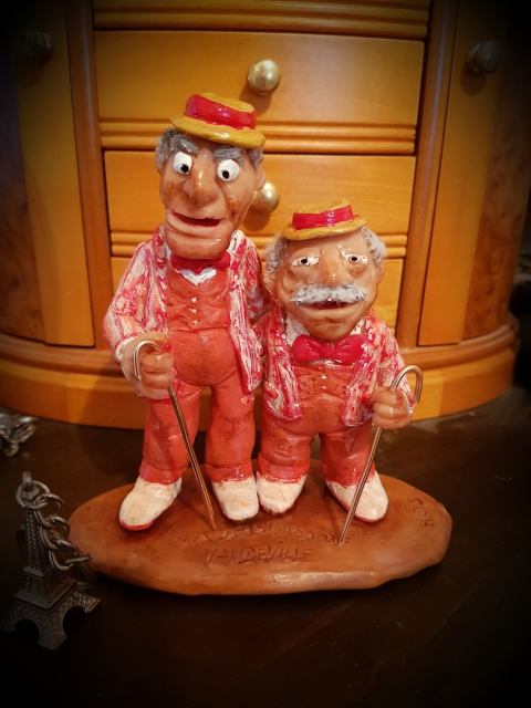 The Muppets, Statler, Waldorf, Curmudgeons, Vaudeville, Paris