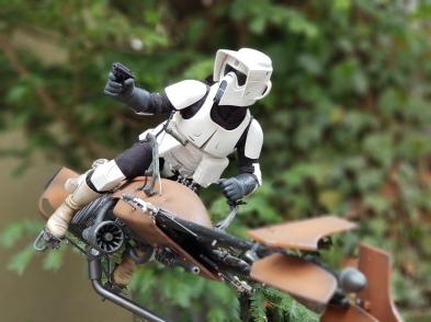 Star Wars, Scout Trooper, Endor, Episode VI, Empire