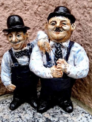 Laurel, Hardy, Komiker, USA, Stummfilm