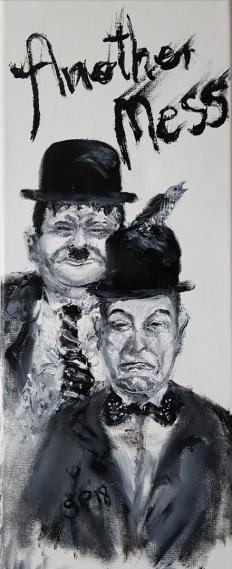 Stan Laurel,  Oliver Hardy, Comedians, USA, Filmklassiker