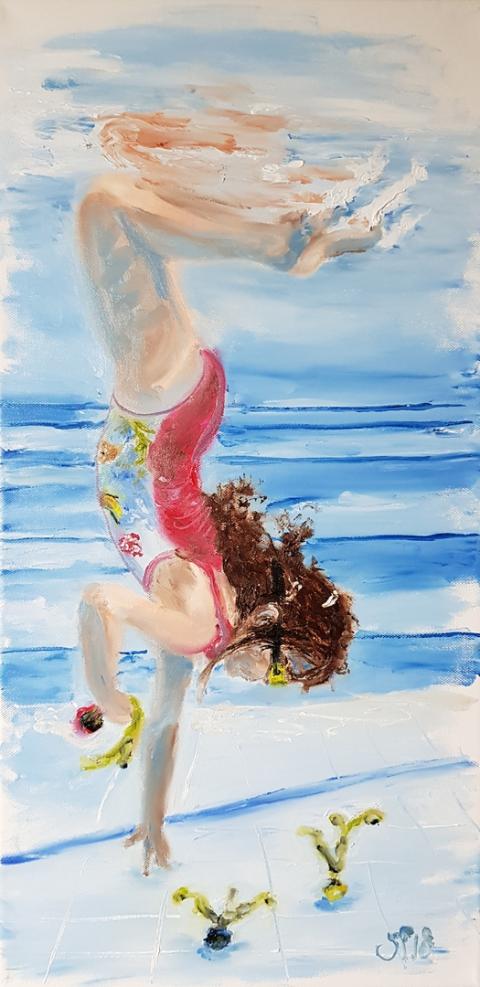 Sophie, Urlaub, Paradies, Familie, Meer, Sonne, Strand, Schnorcheln