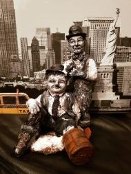 Laurel, Hardy, Komik, Film, USA, Filmstars, USA, RIP, Tribute