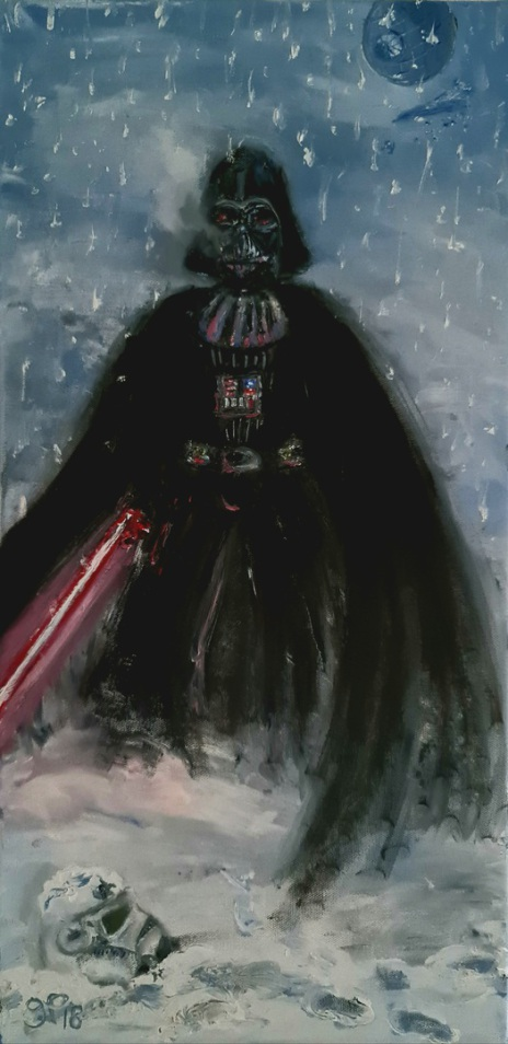 Darth Vader, Star Wars,, The Empire,  George Lucas