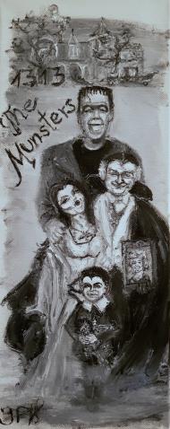 Munsters, Movie, Family, Mockingbird Lane, Frankenstein, Dracula