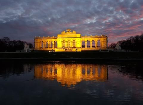 Gloriette,  Schönbrunn,  Wien, Vienna,  Austria