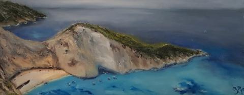 Griechenland, Inseln, Navagio Bay, Hellas
