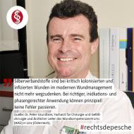 Rechtsdepesche, Grundtner, Silber, Wundmanagement