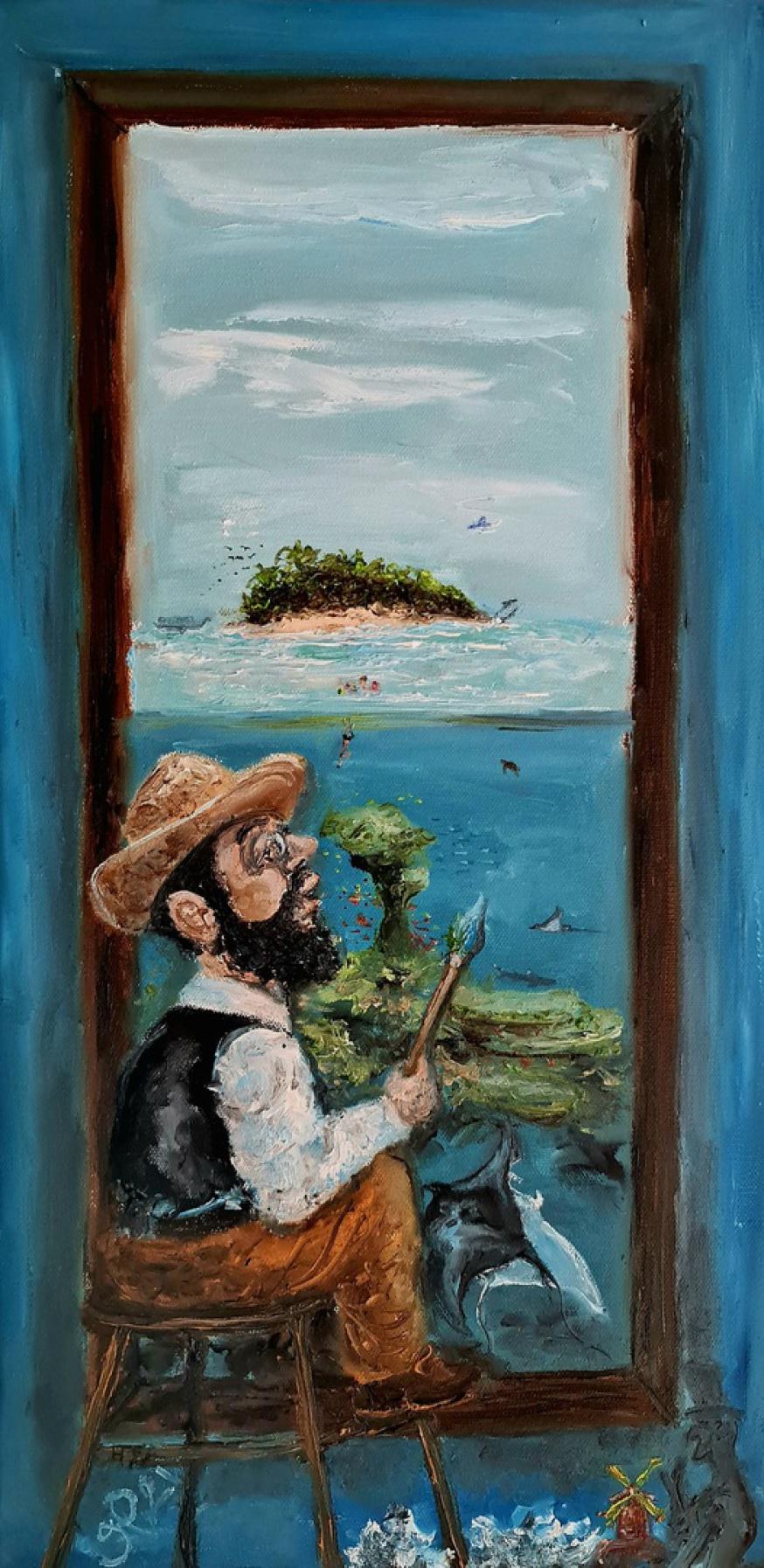 Toulouse-Lautrec, Moulin Rouge, Reef, Oceans, Maldives
