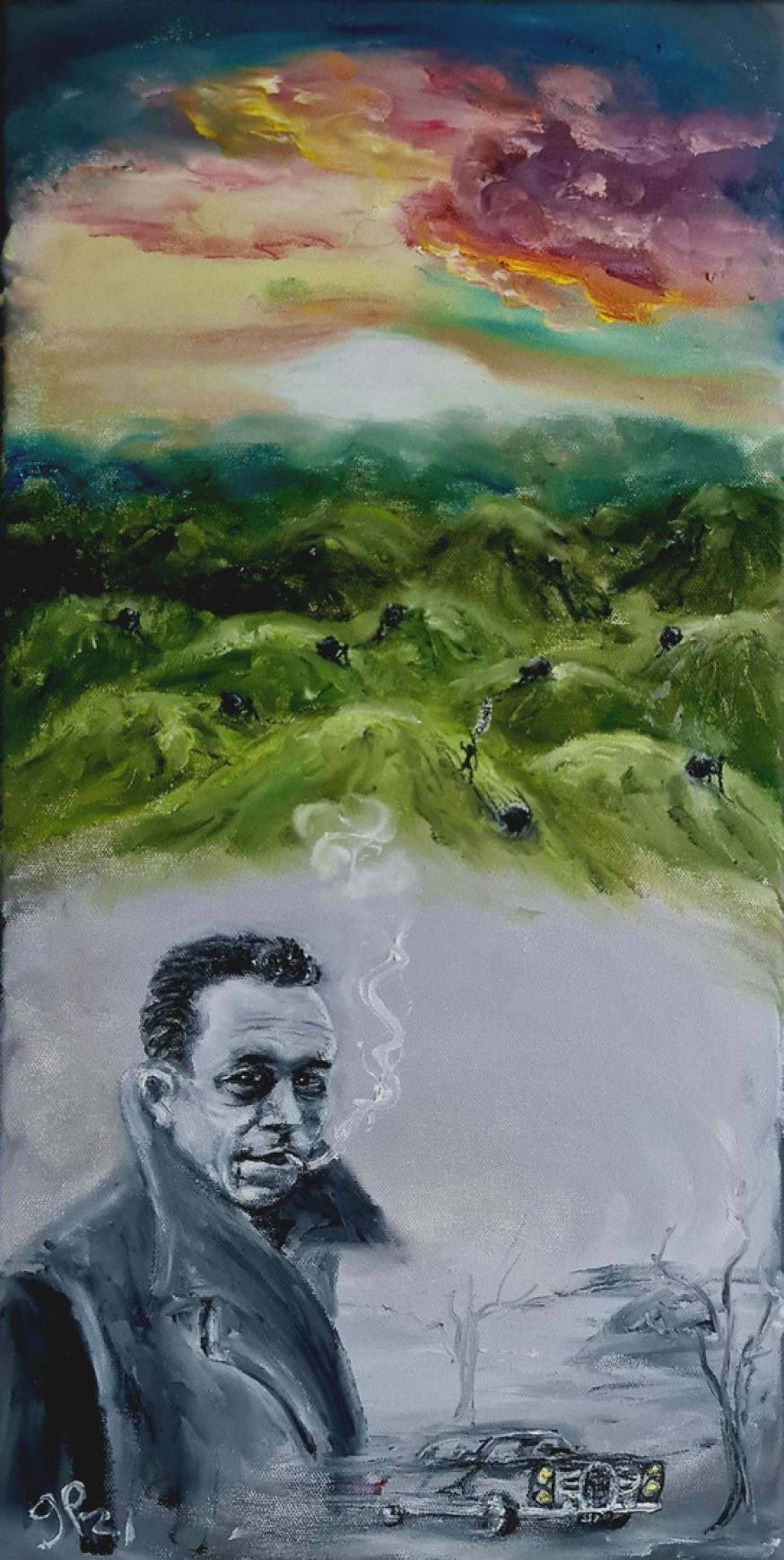 Absurde, Camus, Sisyphos, Freiheit, Facel Vega