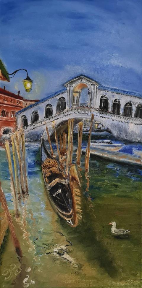 Venezia, Rialto, Gondola, Pestdoktor, Masken