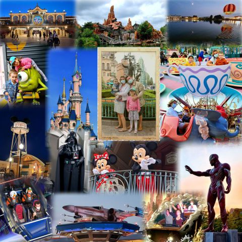 Paris, Disney, Mickey, Star Wars, Vader, Hyperspace Mountain, Disney Village, Iron Man, Dumbo, Thunder Mountain, Lac Buena Vista, Walt Disney Studios